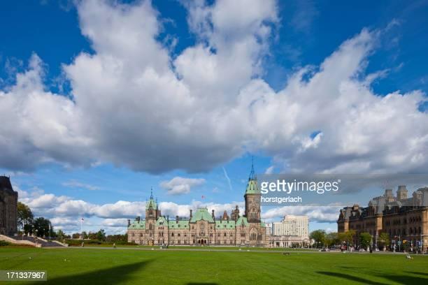 ottawa, kanada, les bâtiments du parlement - kanada photos et images de collection