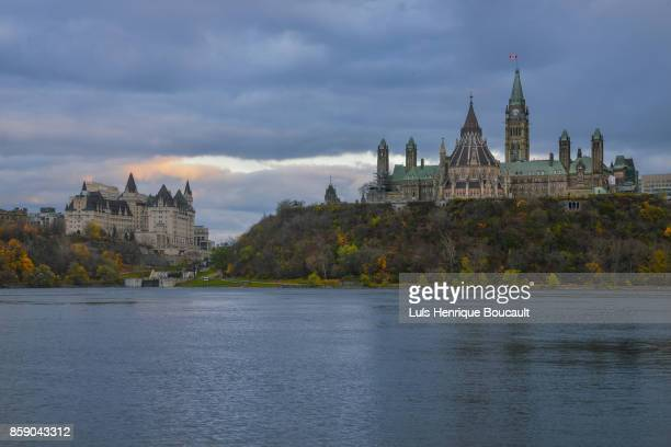 Ottawa Parliament & Sunset