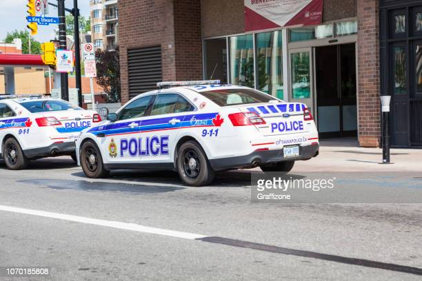 ottawa police cars - ottawa stock pictures, royalty-free photos & images