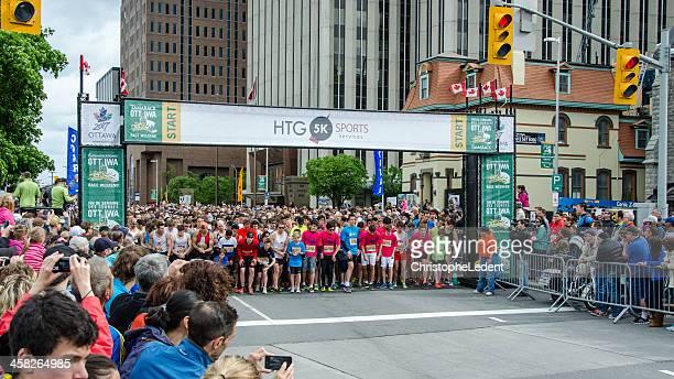 Ottawa Rennwochenende 5km-Lauf starten