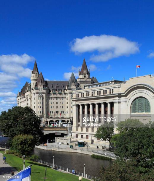 Ottawa, Rideau Canal, Chateau Laurier Hotel, Conference Centre
