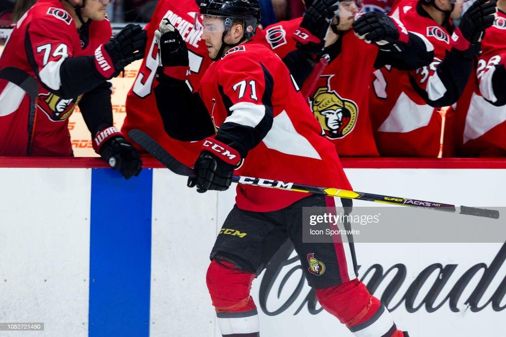 NHL: OCT 20 Canadiens at Senators : News Photo