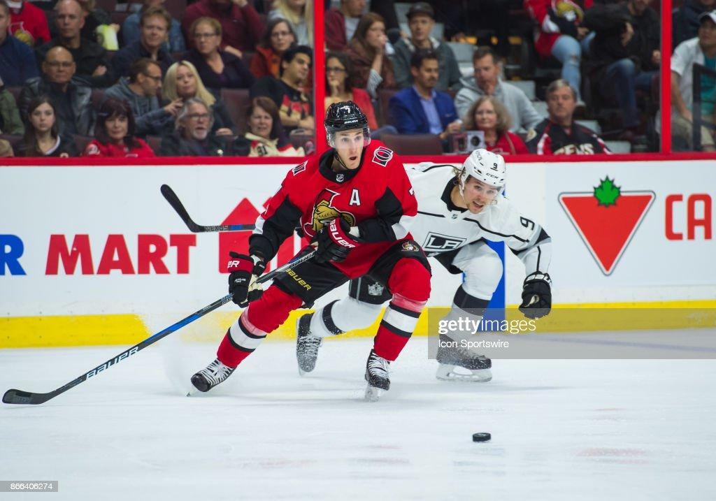 NHL: OCT 24 Kings at Senators : News Photo