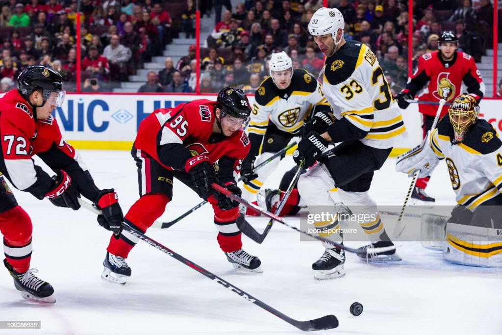 NHL: DEC 30 Bruins at Senators : News Photo