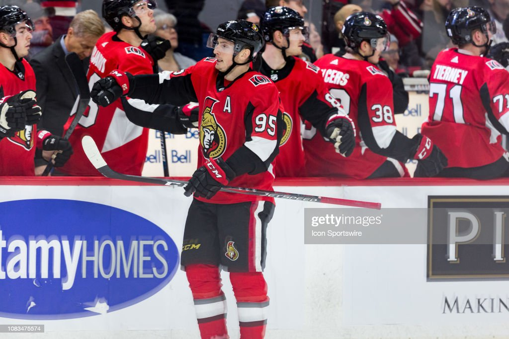 NHL: JAN 16 Avalanche at Senators : News Photo