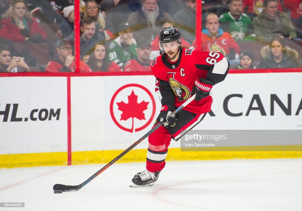 NHL: MAR 16 Stars at Senators : News Photo
