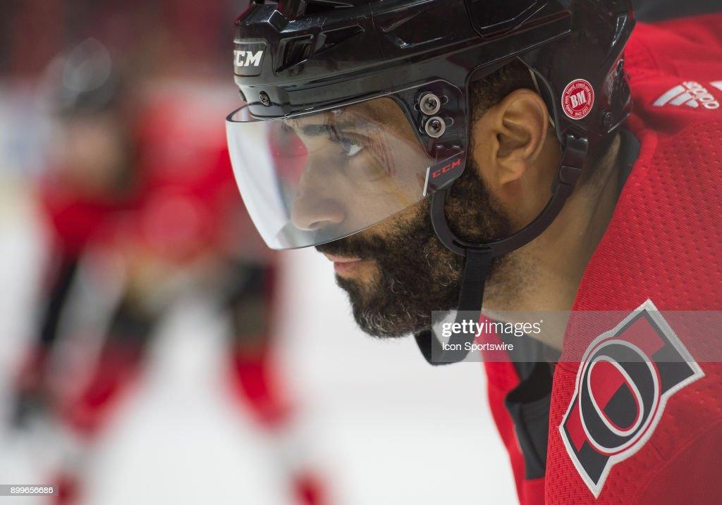 NHL: DEC 29 Blue Jackets at Senators : Fotografía de noticias