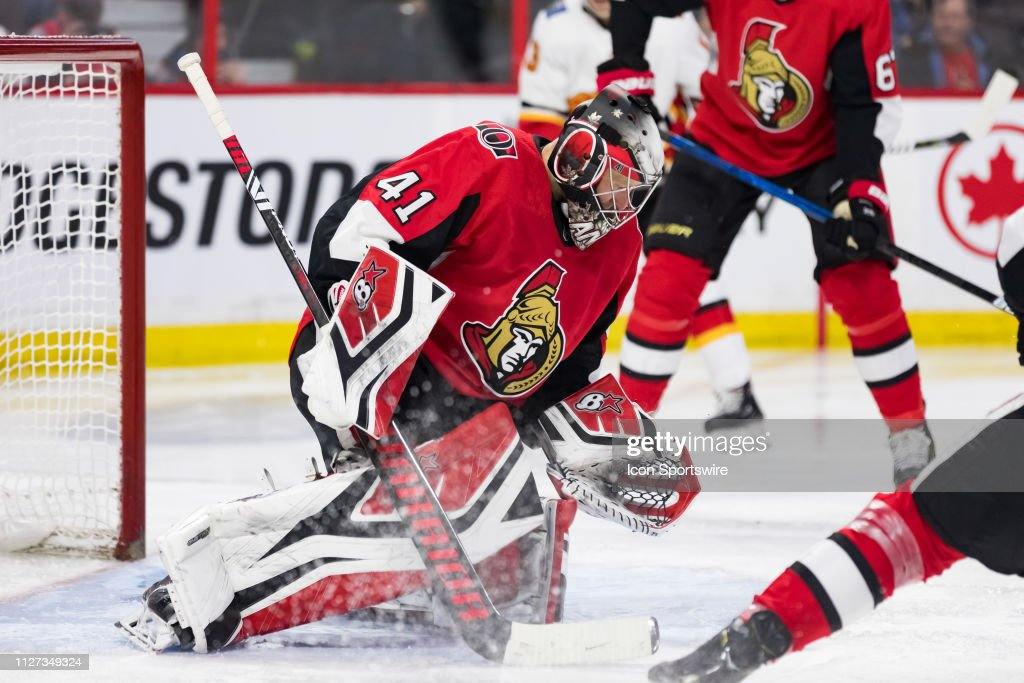Ottawa Senators Goalie Craig Anderson Looks For A Rebound During
