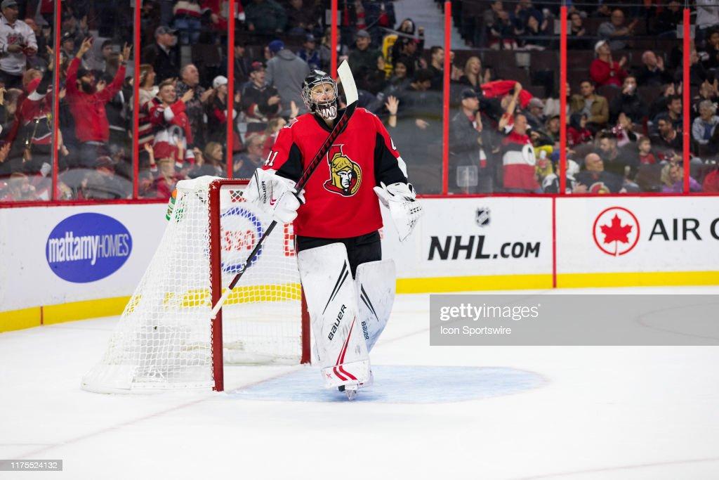 NHL: OCT 12 Lightning at Senators : News Photo