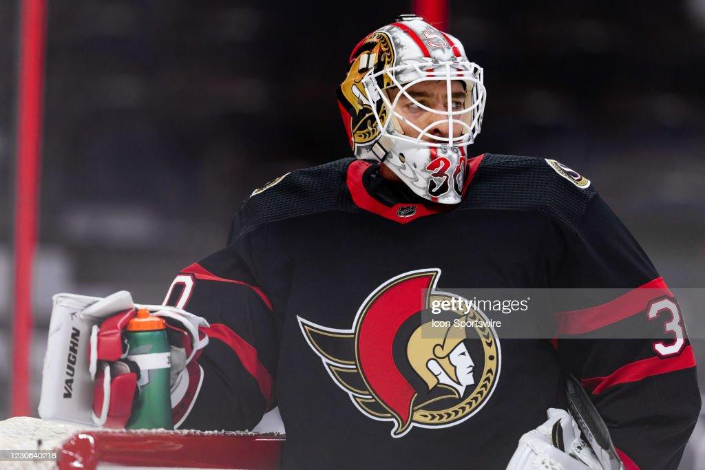 NHL: JAN 15 Maple Leafs at Senators : News Photo