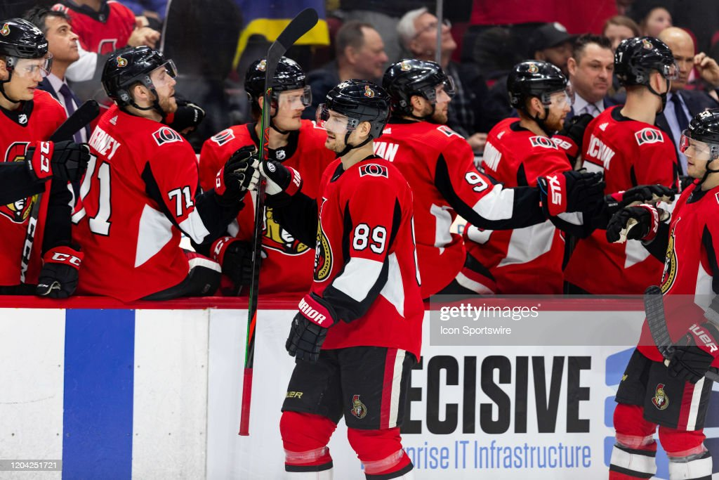 NHL: FEB 29 Red Wings at Senators : News Photo