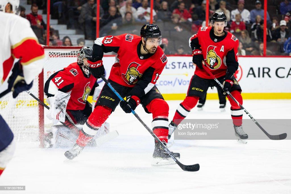 NHL: JAN 02 Panthers at Senators : News Photo