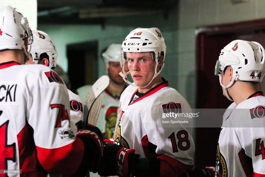 NHL: FEB 24 Senators at Hurricanes : News Photo