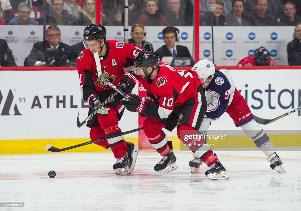 NHL: DEC 29 Blue Jackets at Senators : News Photo