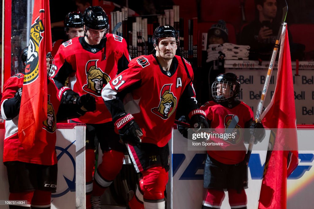 NHL: FEB 09 Jets at Senators : News Photo