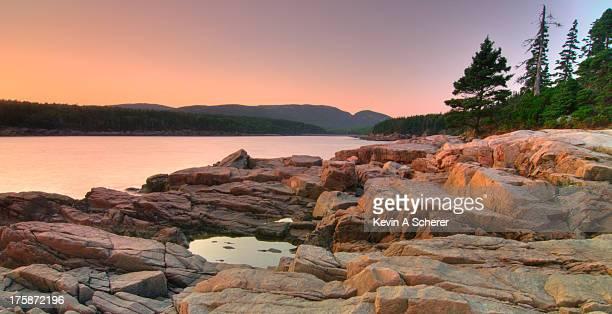 Otter Cove At Dusk