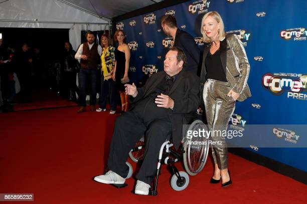 Ottfried Fischer and Simone Brandlmeier attend the 21st Annual German Comedy Awards at Studio in Koeln Muehlheim on October 24 2017 in Cologne Germany