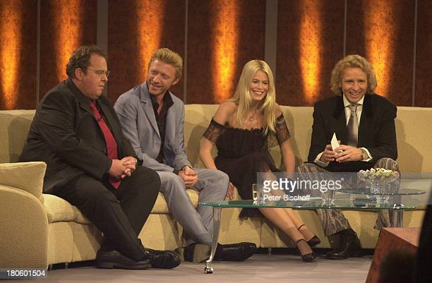 Ottfried Fischer Boris Becker Claudia Schiffer Thomas Gottschalk ZDF 'Wetten Dass' Braunschweig