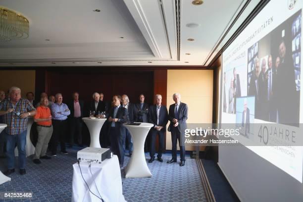 Ottmar Hitzfeld attends the Friends of the German National Team meeting at Steigenberger Graf Zeppelin Stuttgart on September 4 2017 in Stuttgart...