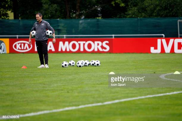 Ottmar HITZFELD Entrainement de l'Equipe de Suisse Euro 2008