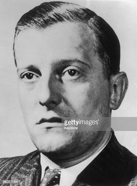 Otto Abetz , German ambassador to Vichy France, circa 1940. He was sentenced to twenty years imprisonment for war crimes in 1949.