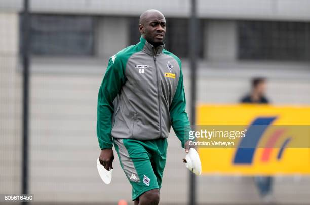 Otto Addo during a training session of Borussia Moenchengladbach at BorussiaPark on July 02 2017 in Moenchengladbach Germany