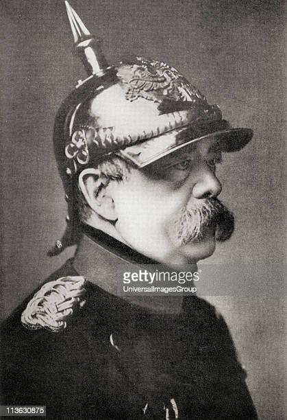 Otto Eduard Leopold von Bismarck Prince of Bismarck Duke of Lauenburg Count of BismarckSchonhausen 1815 to 1898 Prussian German statesman and...
