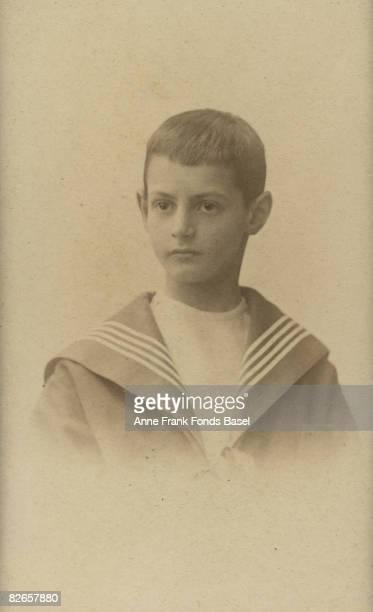Otto Frank father of Anne Frank circa 1900