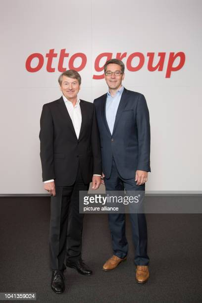 Otto Group CEO HansOtto Schrader and Alexander Birken Otto Group board member in charge of multichannel distance selling and designated CEO starting...