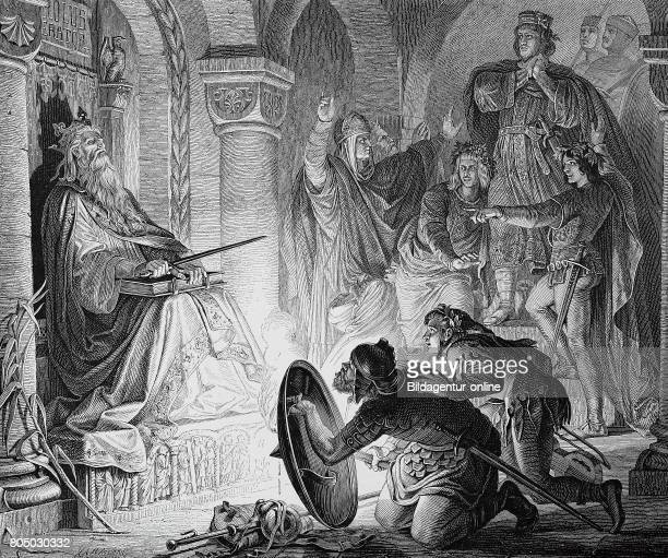 Otto III 980 23 January 1002 was Holy Roman Emperor from 996 until his early death in 1002 here in the grave of Charlemagne 2 April 742/747/748 28...