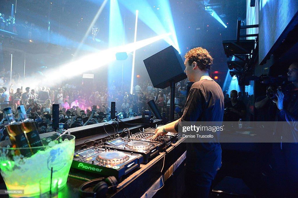 Otto Knows Performs At Light Nightclub At Mandalay Bay On May 25, 2013 In  Las