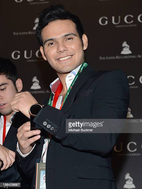 Otto of 3 Ball Monterrey poses during the 2012 Person of the Year honoring Caetano Veloso at the MGM Grand Garden Arena on November 14 2012 in Las...