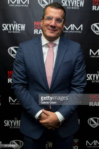 Otto Padron attends Nick Cannon Meruelo Media Skyview Announce Radio Syndication on December 04 2019 in Burbank California