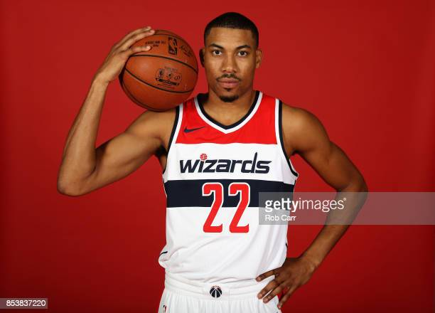 Otto Porter Jr #22 of the Washington Wizards poses during media day at Capital One Arena on September 25 2017 in Washington DC NOTE TO USER User...