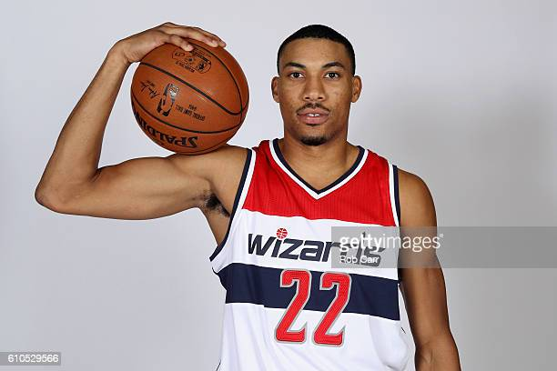 Otto Porter Jr #22 of the Washington Wizards poses for a photo during media day at Verizon Center on September 26 2016 in Washington DC NOTE TO USER...