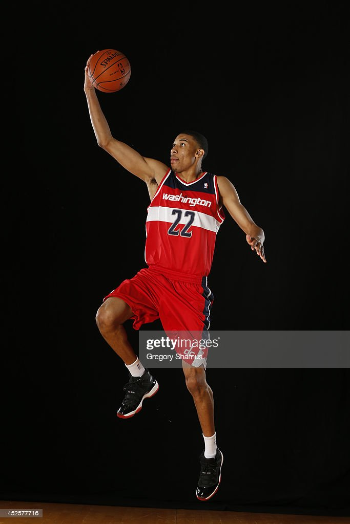 Otto Porter Jr. #22 of the Washington Wizards poses for a portrait during the 2013 NBA rookie photo shoot on August 6, 2013 at the Madison Square Garden Training Facility in Tarrytown, New York.