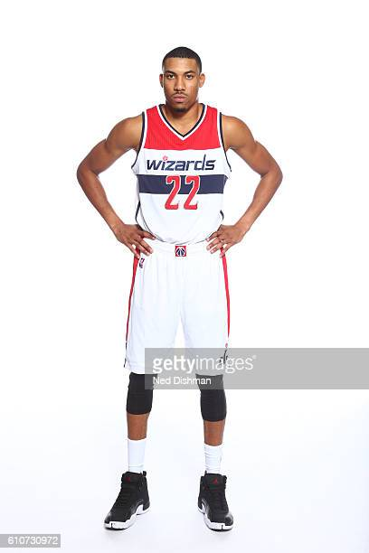 Otto Porter Jr #22 of the Washington Wizards poses for a portrait during the 20162017 Media Day on September 26 2016 at the Verizon Center in...