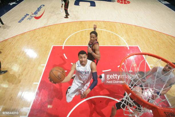 Otto Porter Jr #22 of the Washington Wizards shoots the ball during the game against the Toronto Raptors on March 2 2018 at Capital One Arena in...