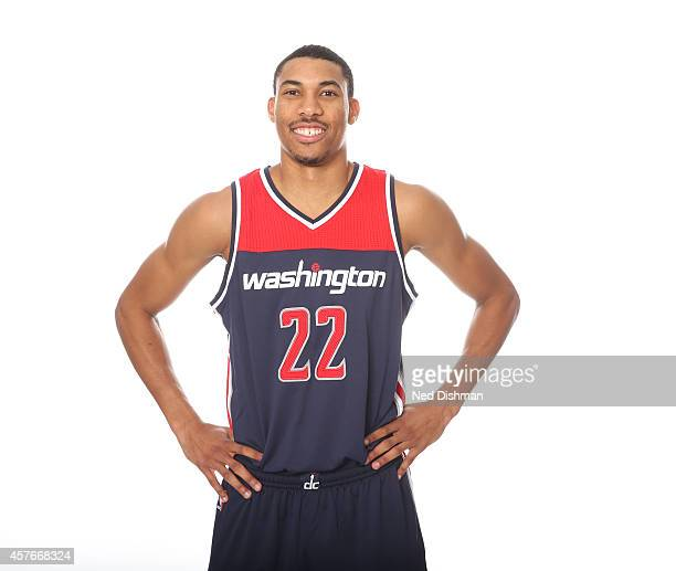 Otto Porter of the Washington Wizards poses for a portrait at the Verizon Center on October 14 2014 in Washington DC NOTE TO USER User expressly...