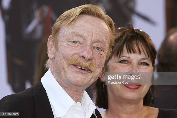 Otto Sander and his wife Monika Upon arrival to Inglourious Basterds premiere in the theater at Potsdamer Platz in Berlin
