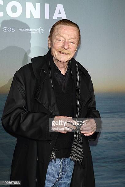 Otto Sander attends the Laconia Premiere at Astor Film Lounge on October 19 2011 in Berlin Germany