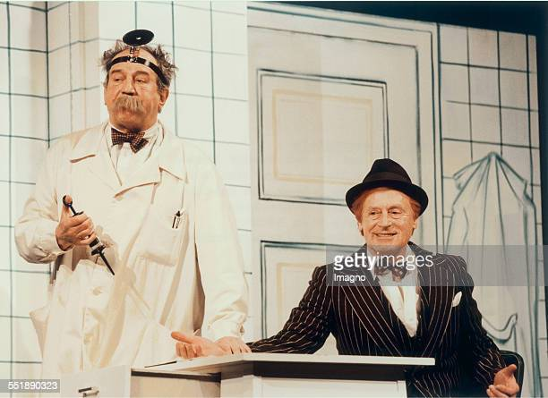 Otto Schenk and Helmuth Lohner play in the main roles of 'sonny Boys ' The premiere was on March the 4th in 1999 Photograph