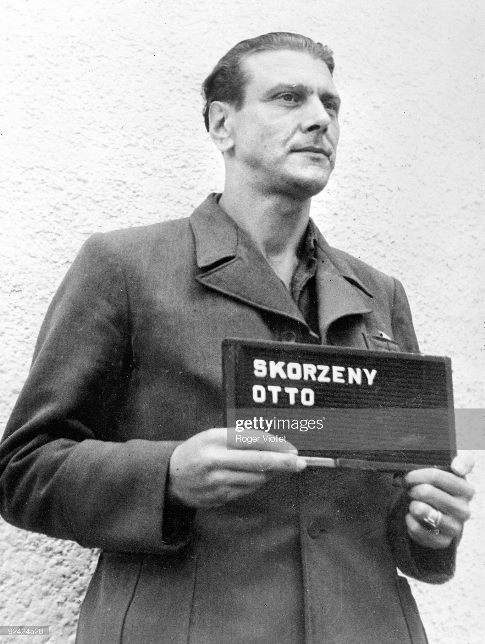 قائد الكوماندوس النازي Otto Skorzeny  Otto-skorzeny-austrian-officer-who-freed-mussolini-photographed-his-picture-id92424528?s=2048x2048