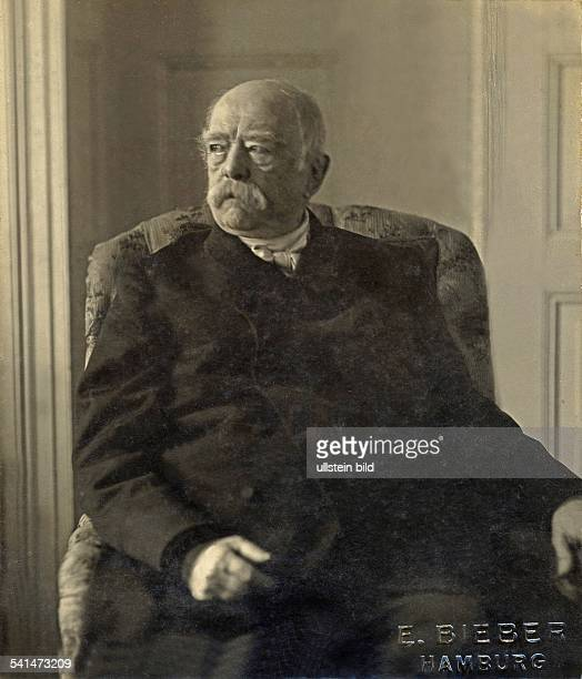 Otto von Bismarck *0104181530061898 German politician 18621890 prime minister of Prussia18711890 German Imperial Chancellor Portrait at old age no...