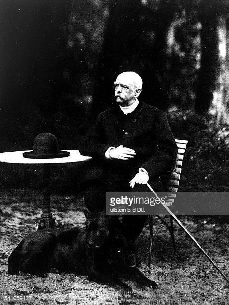' Otto von Bismarck German Imperial Chancellor in Friedrichsruh 1884