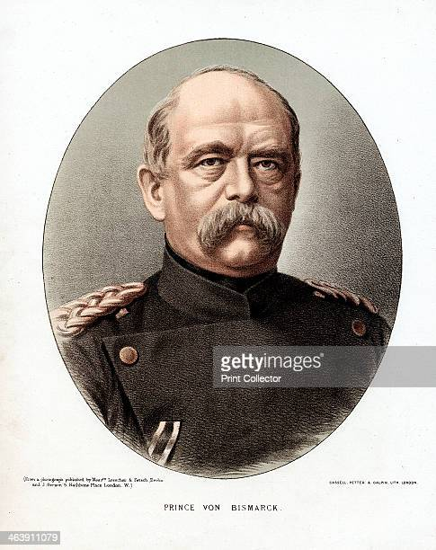 Otto von Bismarck, German statesman, c1880. Otto Edward Leopold, Count von Bismarck was Chancellor of Prussia and architect of modern Germany. His...