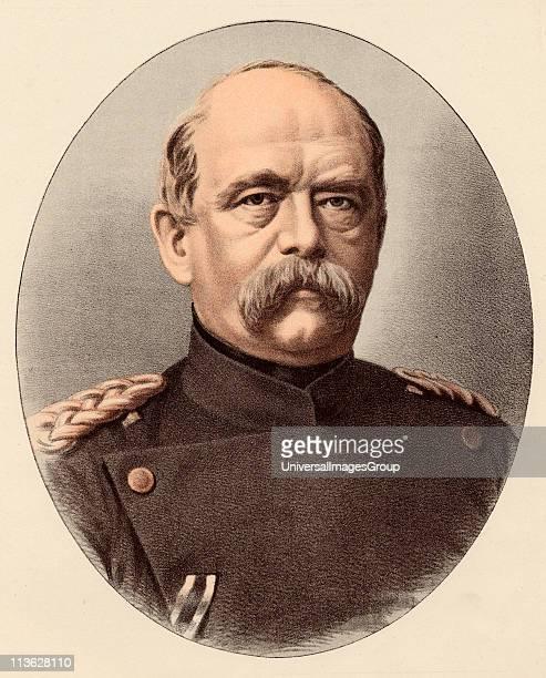 Otto Von Bismarck or Otto Eduard Leopold Prince Von Bismarck18151898 Prussian statesman German chancellor