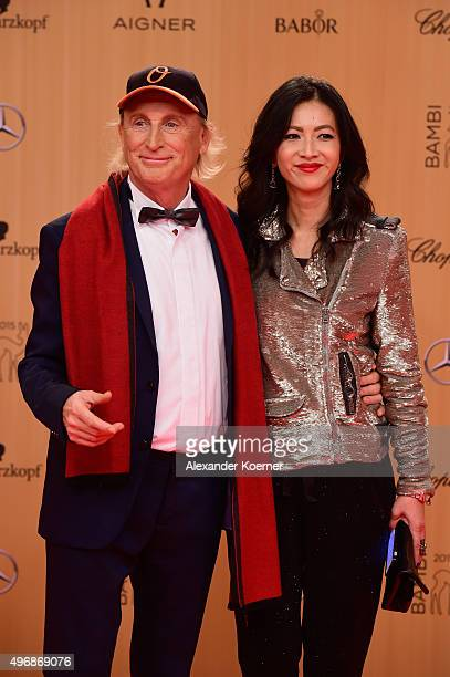 Otto Waalkes and guest attend the Bambi Awards 2015 at Stage Theater on November 12 2015 in Berlin Germany