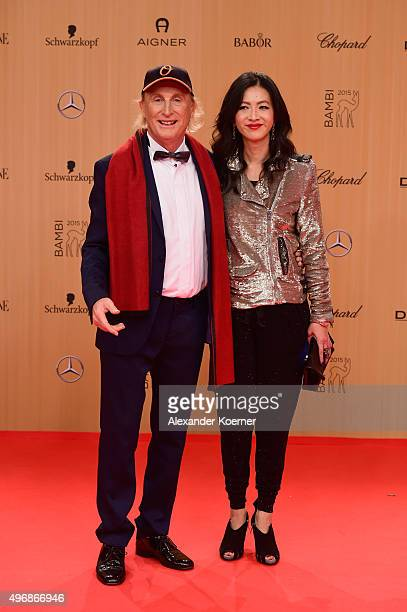 Otto Waalkes attends the Bambi Awards 2015 at Stage Theater on November 12 2015 in Berlin Germany