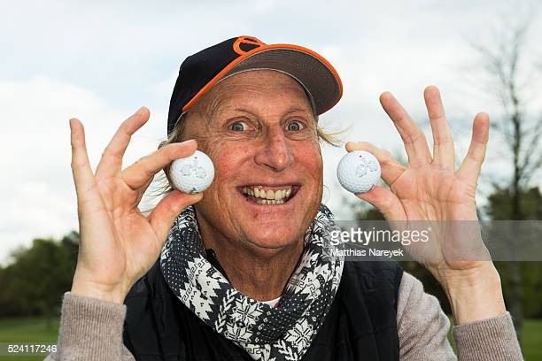 Otto Waalkes attends the Eagles charity golf tournament on April 25 2016 in Berlin Germany